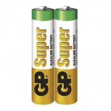 GP Super elem R03 (mikro, AAA) 2db/fólia