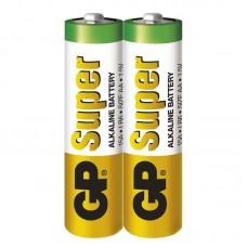 GP Super alkáli elem R6 (ceruza, AA) 2db/fólia