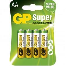 GP Super alkáli elem R6 (ceruza, AA) 4db/bliszter