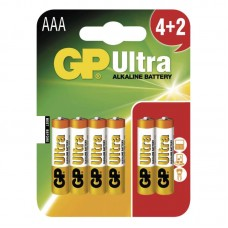 GP Ultra elem R03 (mikro, AAA) 4+2db/bliszter