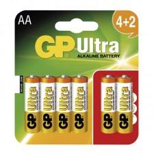 GP Ultra elem R6 (ceruza, AA) 4+2db/bliszter