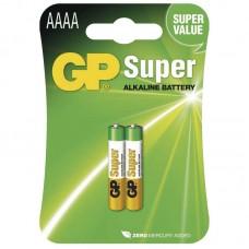 GP Super speciális alkáli elem AAAA (25A) 2db/bliszter