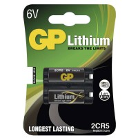 GP lithium foto elem 2CR5 1db/bliszter