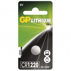 GP lithium gombelem CR1220 1db/bliszter