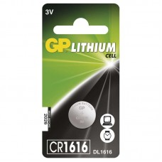 GP lithium gombelem CR1616 1db/bliszter