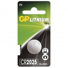 GP lithium gombelem CR2025 1db/bliszter