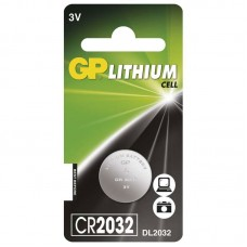 GP lithium gombelem CR2032 1db/bliszter