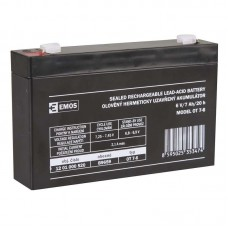 EMOS SLA ólomakkumulátor 6V 7Ah F1 (OT7-6) AGM