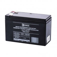 EMOS SLA ólomakkumulátor 12V 7Ah F1 (E1270) AGM