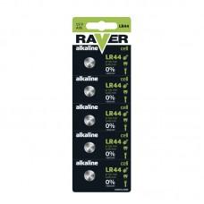 Raver gombelem LR44, LR1154 (A76) 5db/bliszter