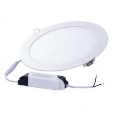EMOS LED panel (fehér) (18W/1300 lm) beépíthető kör alakú (22cm) - természetes fehér