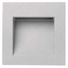 EMOS oldalfali LED lámpatest, irányfény (1W/25 lm) beépíthető négyzet alakú (9cm) - meleg fehér IP65
