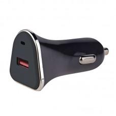 EMOS USB 12-24V autós, kamionos töltő QUICK 1,5-3A (18W, 1x USB) (Qualcomm Quick Charge 3.0)
