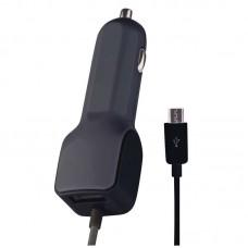 EMOS USB 12-24V autós, kamionos töltő SMART 3,1A (15,5W, 1x USB + micro USB) max