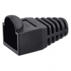 Emos UTP csatlakozó RJ45 védőkupak - fekete