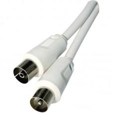 EMOS IEC (koax) kábel IEC - IEC 1,25m - fehér