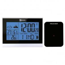 EMOS digitális meteorológiai állomás és rádiójel vezérelt ébresztőóra E3070