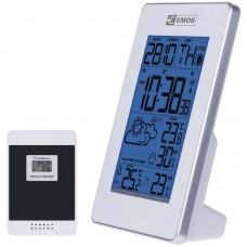 EMOS digitális meteorológiai állomás és rádiójel vezérelt ébresztőóra E3003