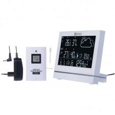 EMOS digitális meteorológiai állomás és rádiójel vezérelt ébresztőóra E5005