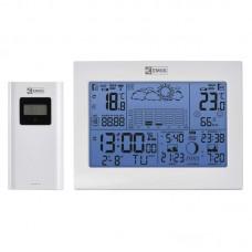 EMOS digitális meteorológiai állomás és rádiójel vezérelt ébresztőóra E8835