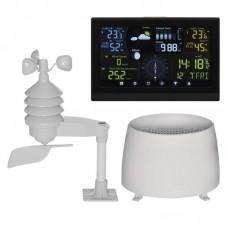 EMOS profi, digitális meteorológiai állomás és rádiójel vezérelt ébresztőóra E6016