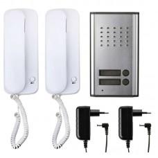 EMOS audió kaputelefon szett 2 lakásos H1086 - fehér