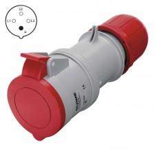 SCAME szerelhető, ipari lengőaljzat 4P (400V/16A) IP44