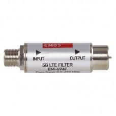 EMOS 5G LTE szűrő (1x be, 1x ki, F csatlakozó) EM-694F
