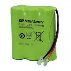 GP NiMH akkumulátor 3,6V 600mAh vezeték nélküli telefonokhoz (T160 P-P501 60AAM3BMU)