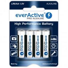 everActive PRO ALKALINE, alkáli elem R6 (ceruza, AA) 4db/bliszter