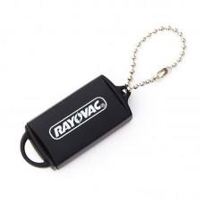 Rayovac hallókészülék elem tároló, kulcstartó