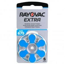 Rayovac Extra Advanced hallókészülék elem 675, ZA675, H675MF 6db/bliszter