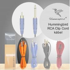 Hummingbird RCA Clip Cord kábel (narancs)