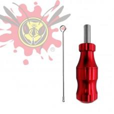 BIG WASP állítható tűmélységű aluminium markolat (19mm) -piros
